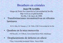 conf_archilla06 - Universidad de Sevilla