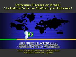 Brasil, José R.Afonso - Buenos Aires, mar 2007
