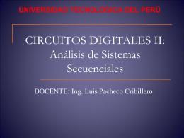 Analisis de circuitos secuencial