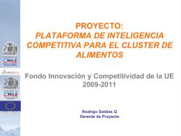 Ver presentación: Alcances del Proyecto