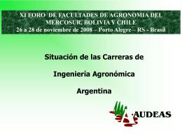 Argentina - Foro de Decanos del Mercosur