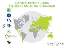 SELLOS DE CALIDAD ORIFLAME DE COLOMBIA