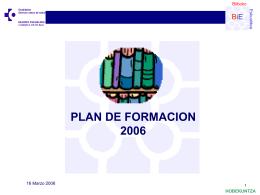 II Jornadas de Formación (año 2006) ( ppt , 298 KB )