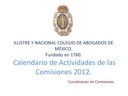 Descargar - Ilustre y Nacional Colegio de Abogados de México