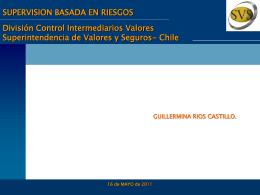 Fiscalización in Situ - Superintendencia de Valores y Seguros