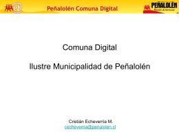 Peñalolén Comuna Digital