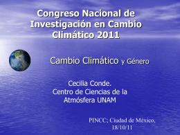 Políticas de Adaptación Cecilia Conde. CCA- UNAM