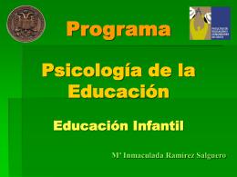 MÁSTER DE EDUCACIÓN SECUNDARIA