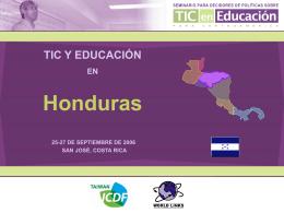 TIC y Educación en Honduras