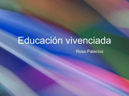 Educación vivenciada