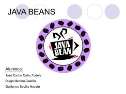 Breve presentación de los JavaBeans