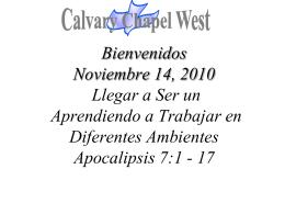 Revelation 7: 1-8 (NASB)