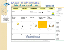 CEFS-MAY-SCHEDULE