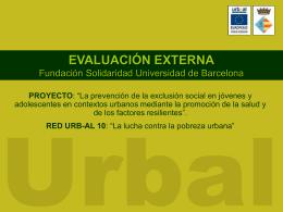 proyecto - centro de documentación del programa urbal