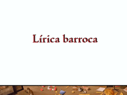 rasgos del barroco literario