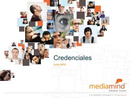 Credenciales MediaMind 2010