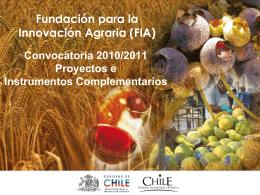 Ver presentación - Asociación de Empresas de Alimentos de Chile