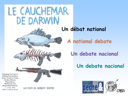 Un debate nacional - ICSF - International Collective in Support of