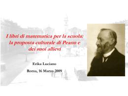 ppt - Dipartimento di Matematica