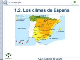 1.2. Los climas de España