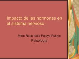 Impacto de las hormonas en el funcionamiento