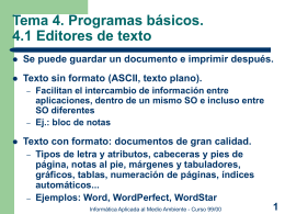 Diapositivas del Tema 4