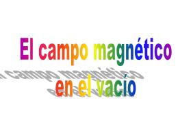 El campo magnético estático I