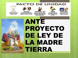 Manifiesto político y cultural de la Madre Tierra