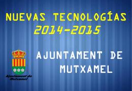 Resumen actuaciones 2014-15