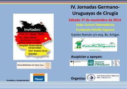 Prof. Dr. Jürgen Weitz - Sociedad de Cirugía de Uruguay