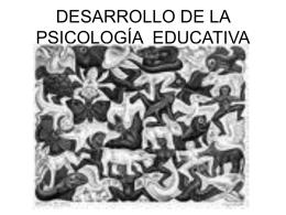Antecedentes Psicología