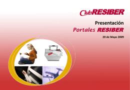 RESIBER Portales - Iberia Web Sistemas
