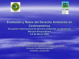 Derecho Ambiental en Centroamérica