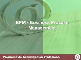 Entorno BPMN