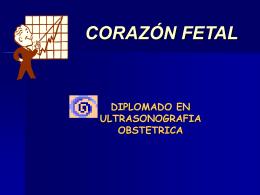 Clase 1.- Coraz�n Fetal