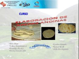 Preparación de Arepas Andinas - FEVEA-SAN-FERNANDO