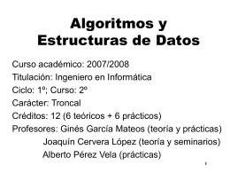 PowerPoint97 - Departamento de Informática y Sistemas