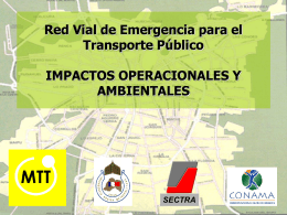Aumentar el uso del transporte público