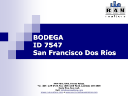 ID 7065 San Francisco Dos Ríos