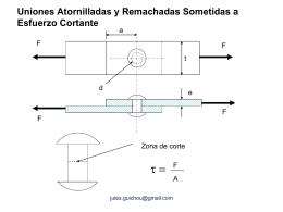 C10-Remaches-Soldadura - Diseño Mecánico Vespertino USACH