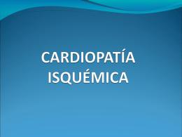 Cardiopatia isquemica - Aula-MIR
