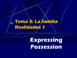 s possession powerpoint