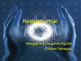 Diapositiva 1 - La Realidad Virtual