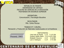 to file - Módulo de Tecnología Educativa, Profesor Carlos