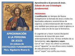 Qué es la Cristología?