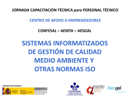 ISO 9001 - Confesal