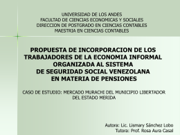 PRESENTACION TESIS - Postgrado en Ciencias Contables