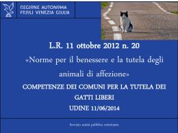 Presentazione di PowerPoint - Regione Autonoma Friuli Venezia