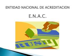 ENTIDAD NACIONAL DE ACREDITACION JOSE