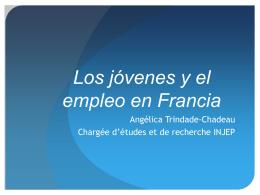 Les jeunes et l`emploi en France - Salto